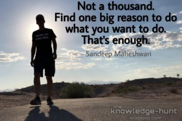 Sandeep Maheshwari quotes about life