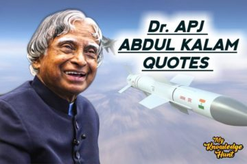 APJ Abdul Kalam Thoughts - Quotes about success, life and leadership.