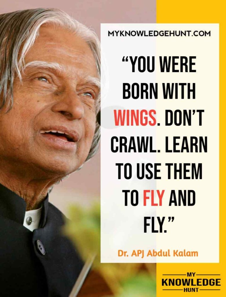 APJ Abdul Kalam Success Quotes